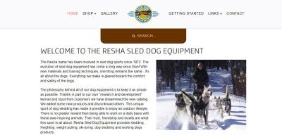 Resha Sled Dog Equipment