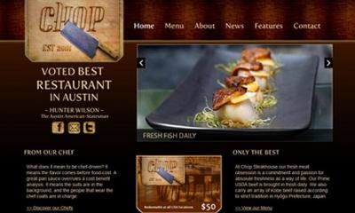 Chop Joomla Template