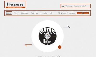Handmade Joomla Template