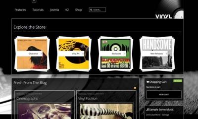 Vinyl Joomla Template