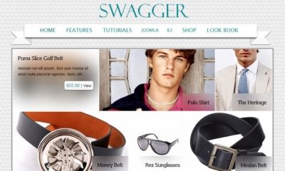 Swagger Joomla Template