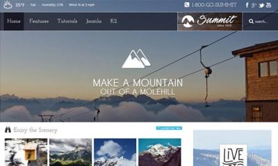 Summit Joomla Template