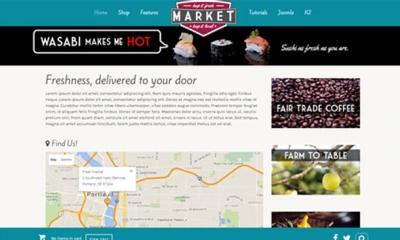 Market Joomla Template