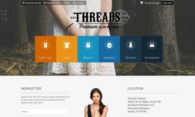 Threads Joomla Template